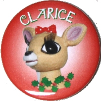 Clarice from Rudolph the Red-Nosed Reindeer Magnet