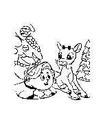 Hermie The Elf Coloring Pages Coloring Pages Hermie And Friends Coloring Pages
