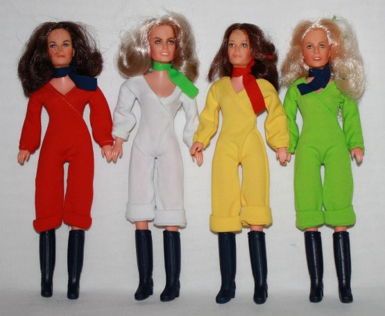 Charlie's Angels Vintage Dolls – 1977 TV Series Stars