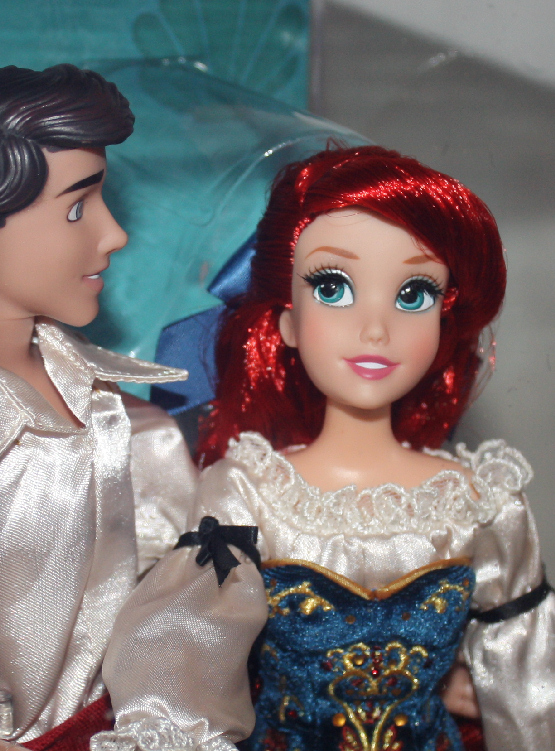 Fairytale Couples Ariel and Eric Disney Designer Fairytale Dolls Set
