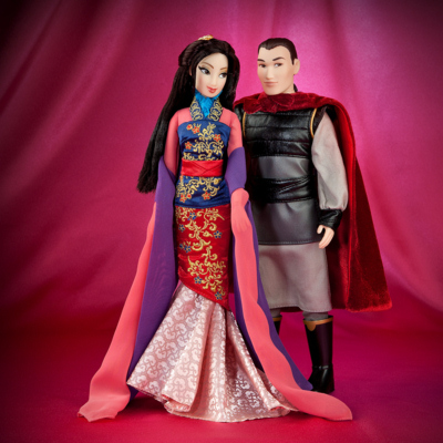 Disney Designer Fairytale Doll Set Mulan