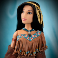 Disney Designer Fairytale Doll Set Pocahontas