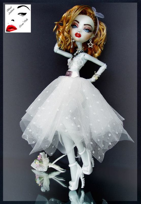 Madonna Like a Virgin Repaint Monster High Doll
