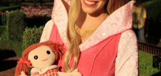 Misfit Dolly with Disney Princess Aurora