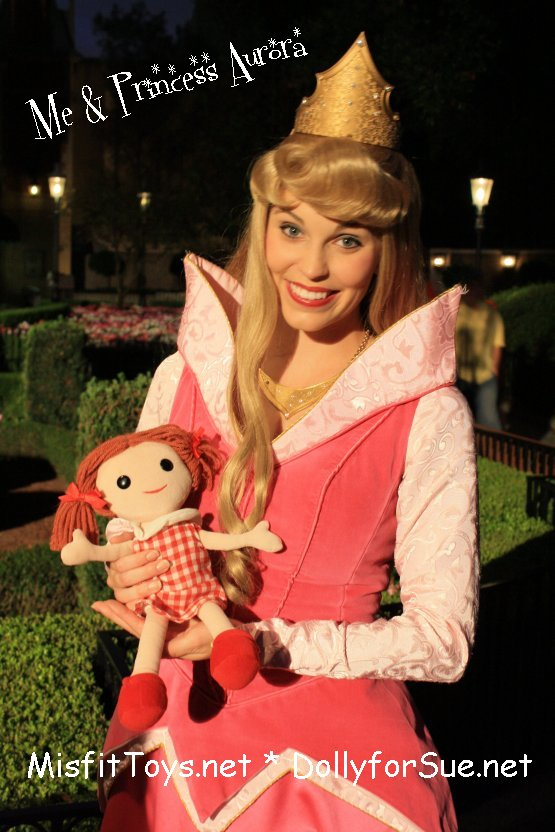 Misfit Dolly with Disney Princess Aurora