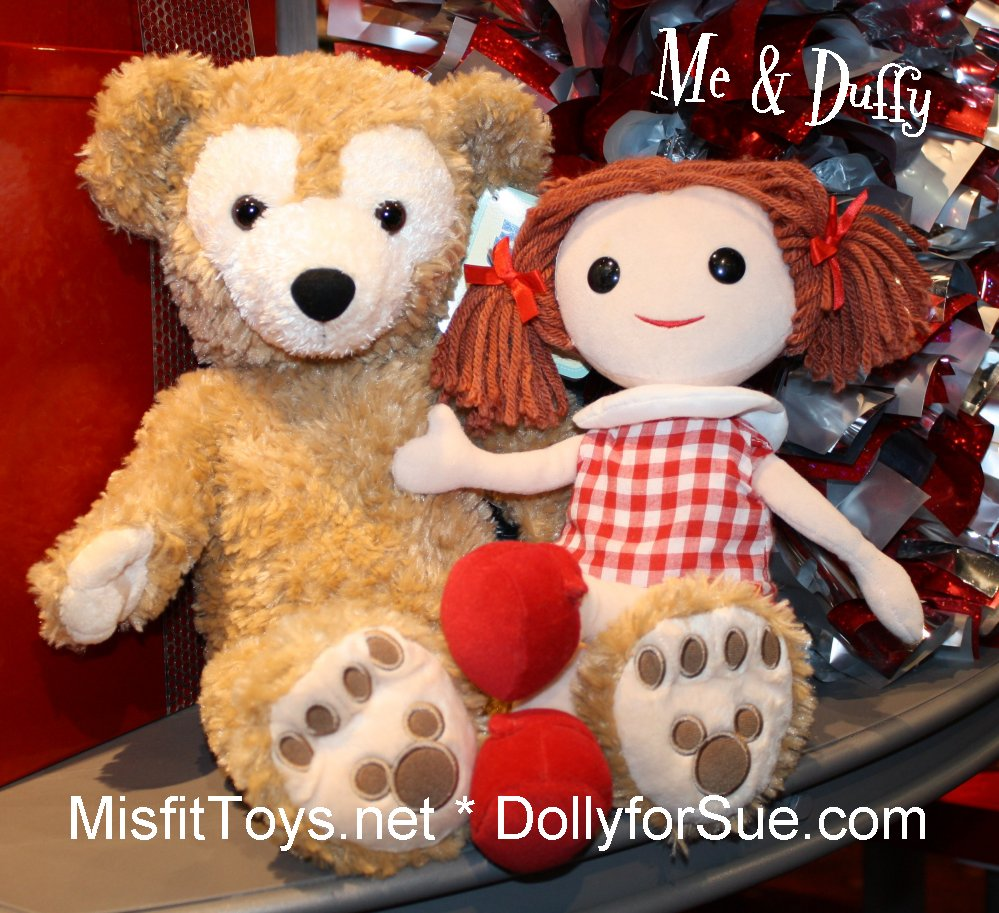 Dolly for Sue with Duffy the Bear