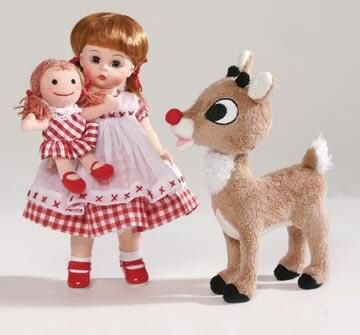 Wendy Loves Rudolph the Red-Nosed Reindeer Doll Set