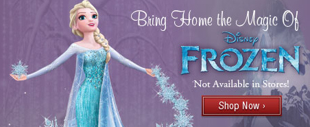 Disney Frozen Elsa and Anna Merchandise
