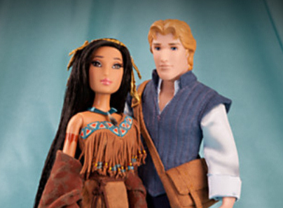 Pocahontas Disney Designer Fairytale Doll Set