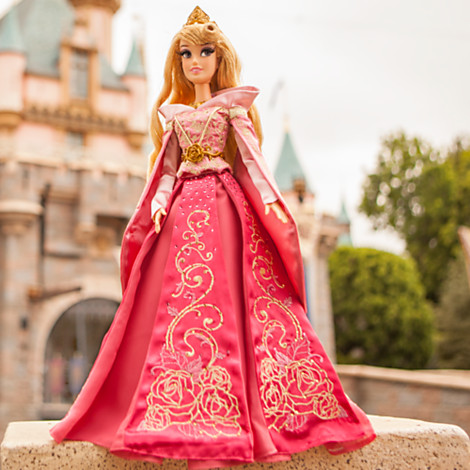 "Disney Princess Aurora Pink Limited Edition 17"" Doll"