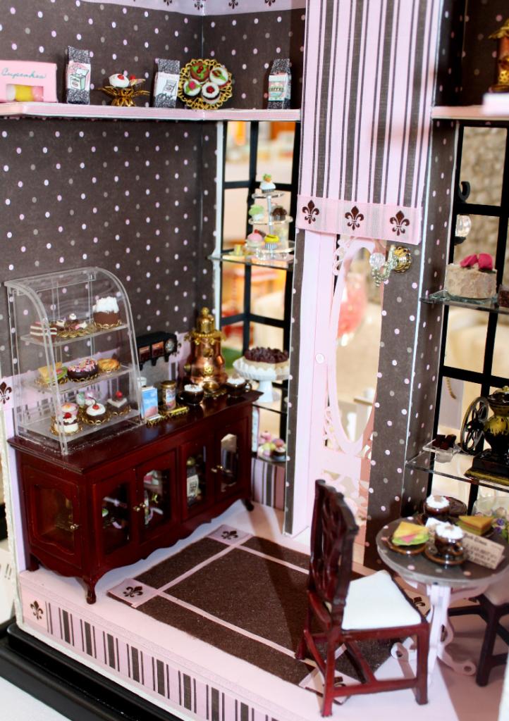 Barista Coffee Shop by Miniature Artisan Sheila LeQuia