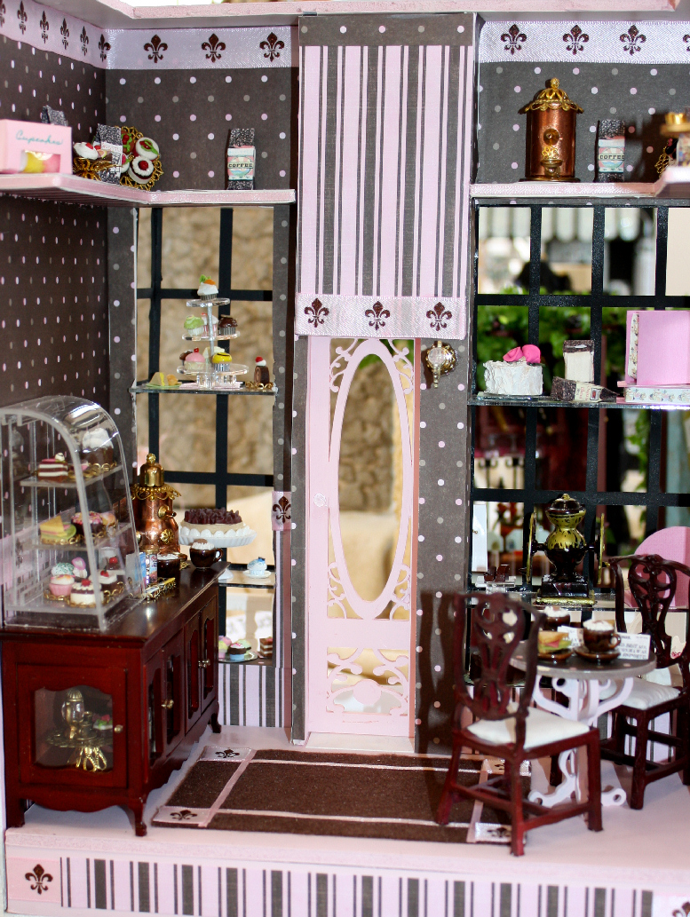 Barista Coffee Shop by Miniature Artisan Sheila LeQuia
