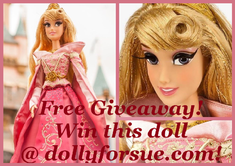 DollyforSue.com Pink Aurora Disney Doll Giveaway