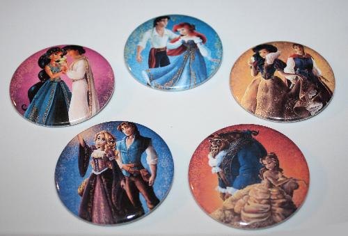 Disney Designer Fairytale Couples