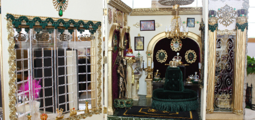 Royal Museum by Miniature Artisan Sheila LeQuia