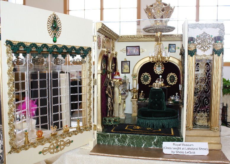 Royal Museum by Miniature Artisan Sheila LeQuia