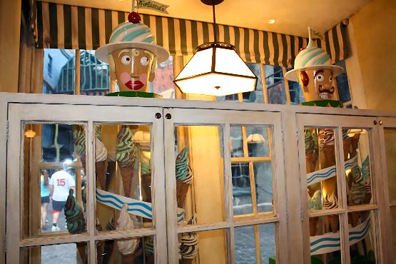Florean Fortescue's Ice Cream Parlor at Diagon Alley Universal Studios Orlando Florida