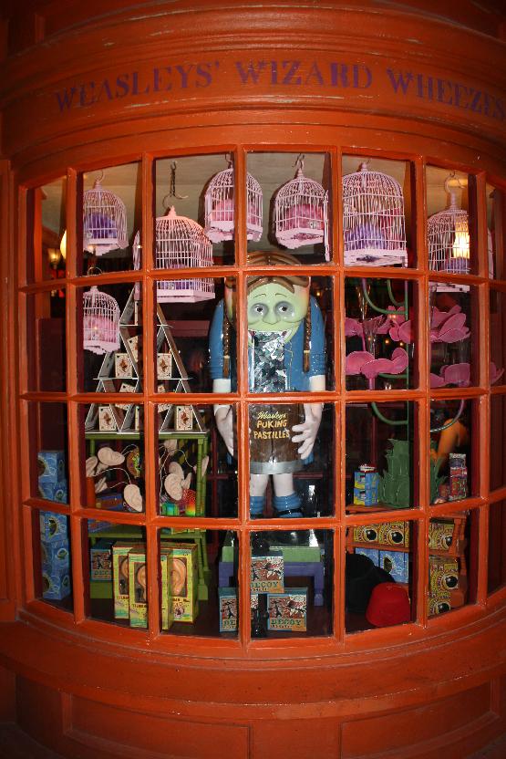 Weasley Wizard Wheezes at Diagon Alley Universal Studios Orlando Florida