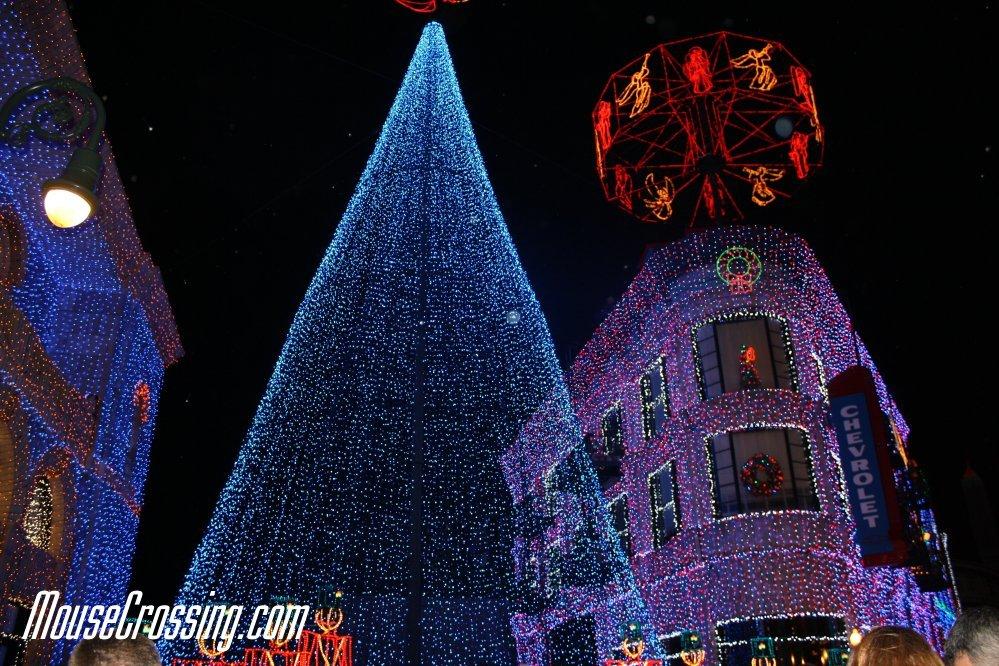 Osborne Spectacle of Dancing Lights at Walt Disney World