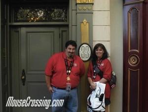 Club 33 Entrance in Disneyland