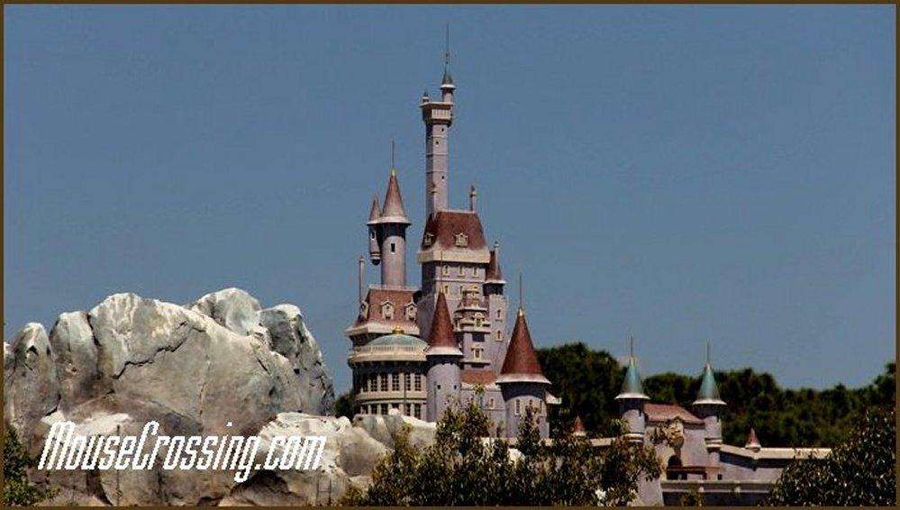 Beast Castle at New Fantasyland