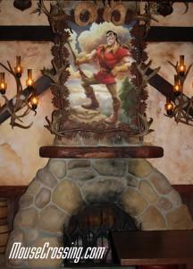 Inside Gaston's Tavern at New Fantasyland