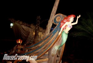Outside Under the Sea Journey of the Little Mermaid Ride