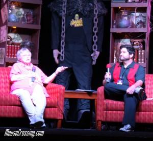 Pat Carroll aka Ursula at Mayhem 2013