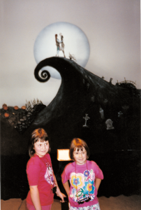 Amber and Katy 1994 Nightmare Before Christmas Set at AFI