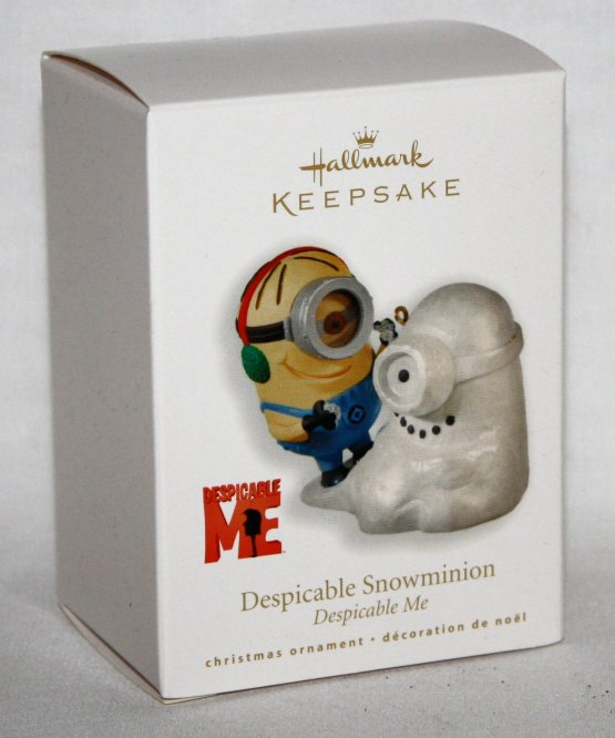 MHallmark Snowminion 2010 Despicable Me Keepsake Minions Ornament