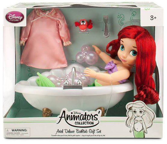 Ariel Animators Bathtub Deluxe Giftset