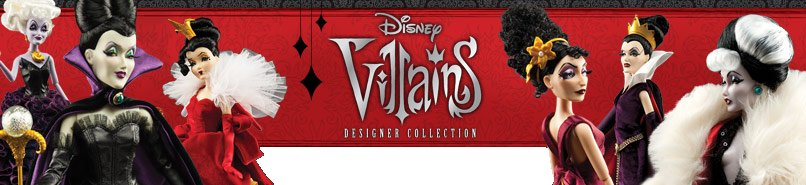 Disney Designer Villains Doll Collection for sale