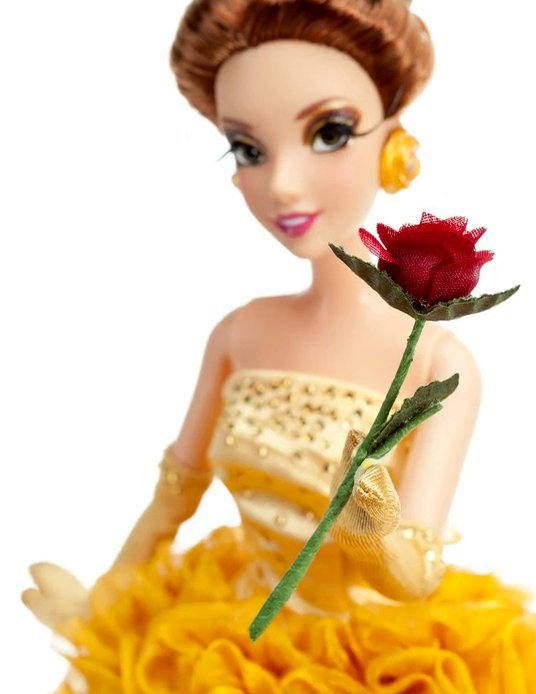Belle of Beauty and the Beast Disney Princess Designer Doll