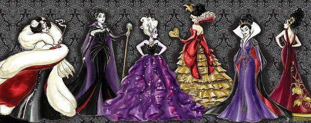 Designer Disney Villains Doll Collection for 2012