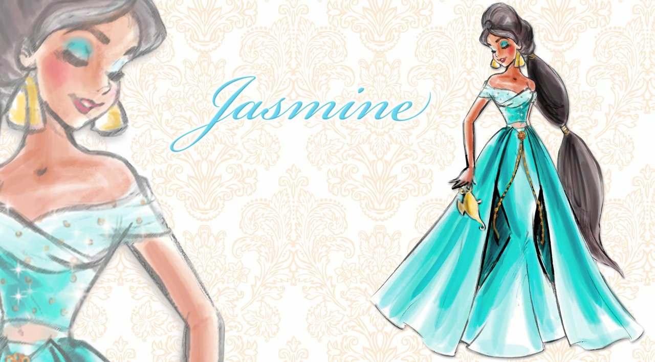Disney Designer Princess Doll Jasmine