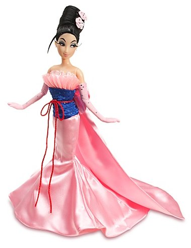Designer Disney Princess Doll Mulan