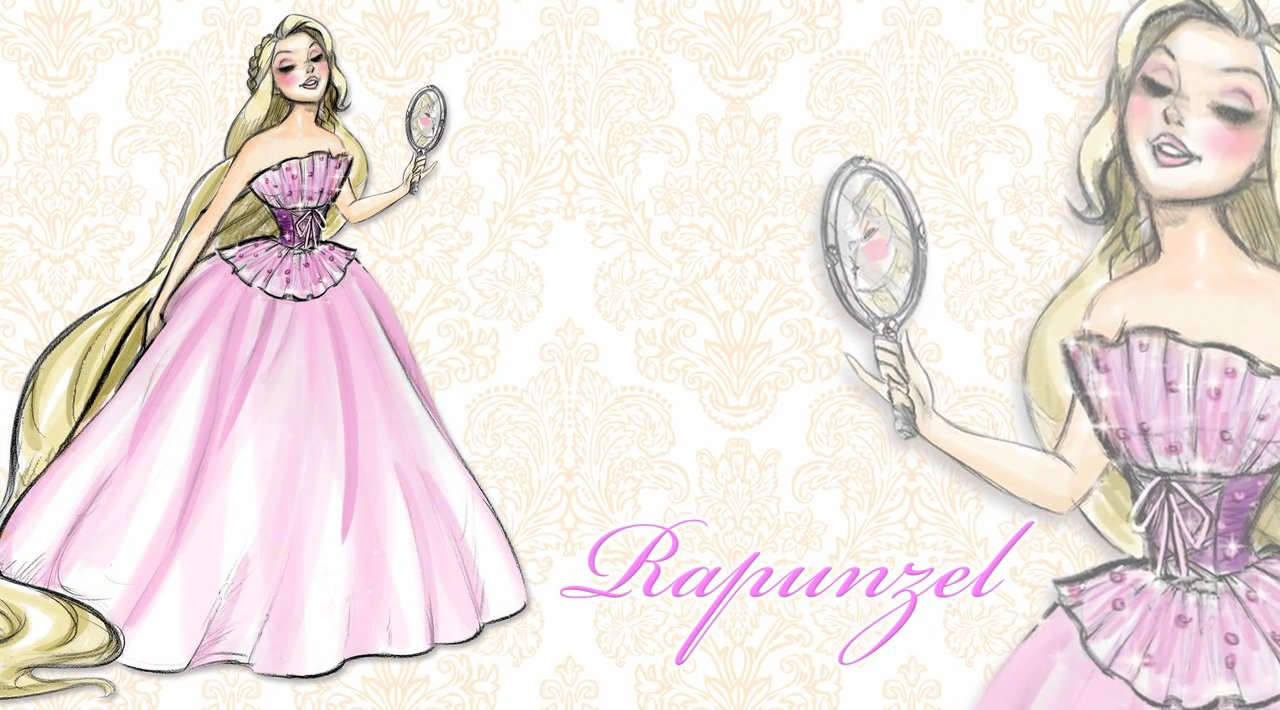 Rapunzel Disney Designer Princess Doll