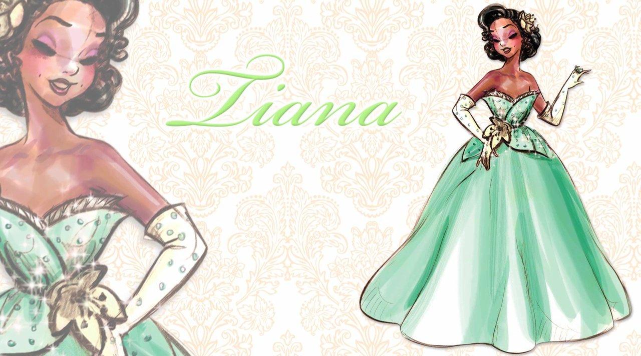 Designer Disney Princess Doll Tiana