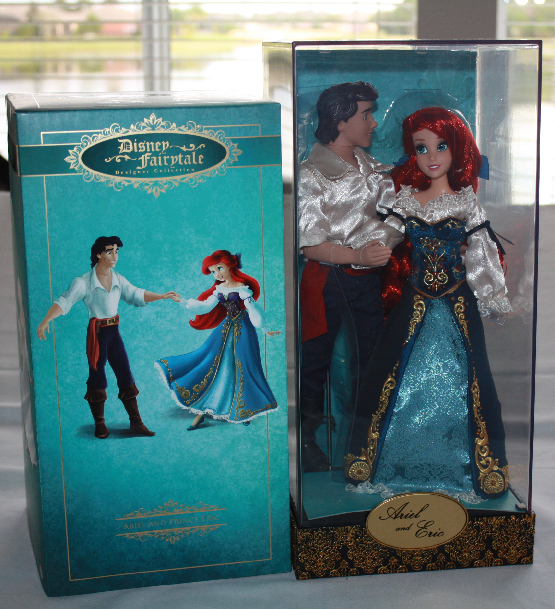 Disney Designer Fairytale Couples Doll Set Ariel and Eric