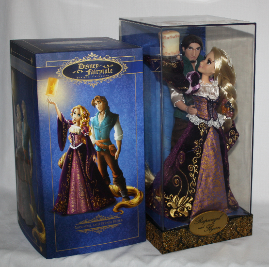 Rapunzel and Flynn Tangled Fairytale Couple Designer Disney Doll Set LE 6000 Disney