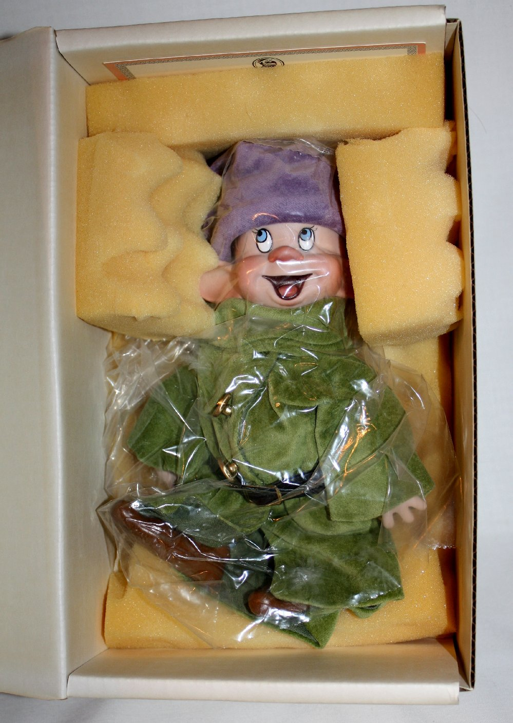 Wendy Lawton Snow White and Dopey Disney Doll