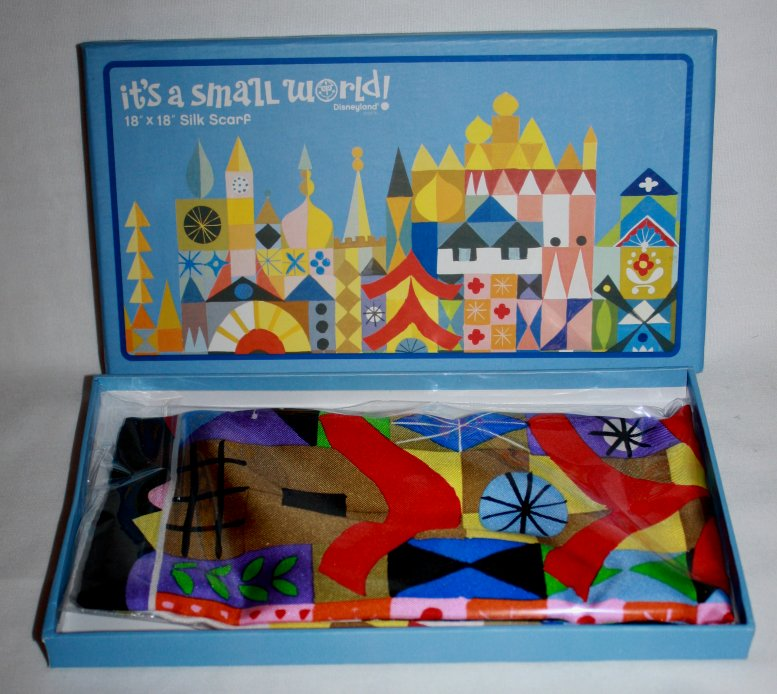 Mary Blair It's a Small World Scarf