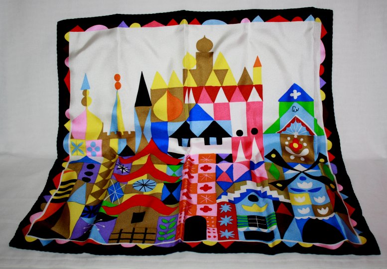 Mary Blair Silk Scarf
