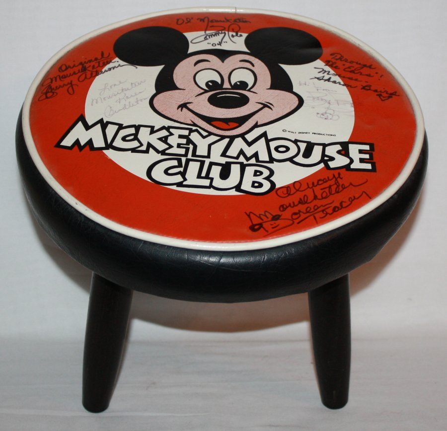 Mickey Mouse Mousketeers Vintage Chair