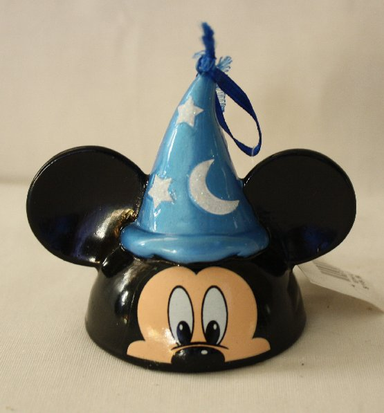 Number 1 Super Rare Mickey Mouse Disney Christmas Ornament Sorcerer Mickey Mouse