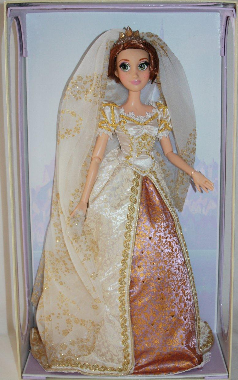 Rapunzel Wedding Doll Deluxe Disney Princess Designer Tangled Ever After Limited Edition