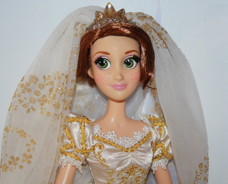 Rapunzel Wedding Doll Deluxe Disney Princess Designer Tangled Ever After Limited Edition