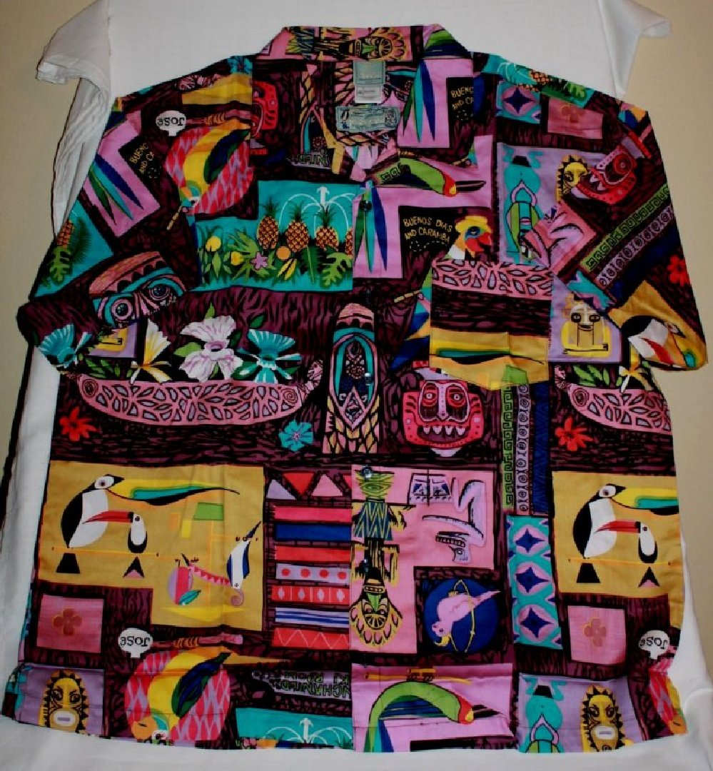 Kevin Kidney Enchanted Tiki Room Limited Edition Shirt