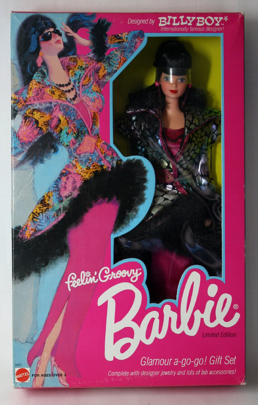 Feeling Groovy Barbie Glamour Doll by Billy Boy