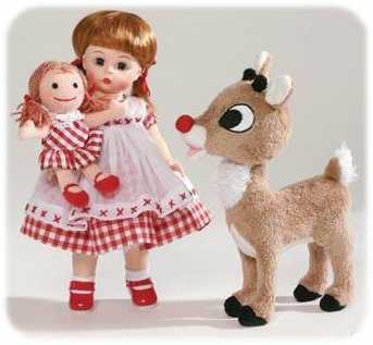 Wendy Loves Rudolph Madame Alexander Doll